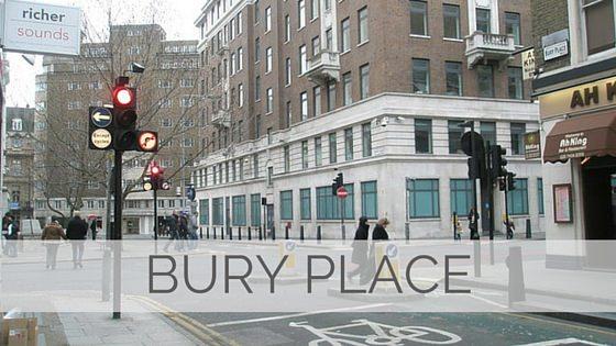 Bury Place