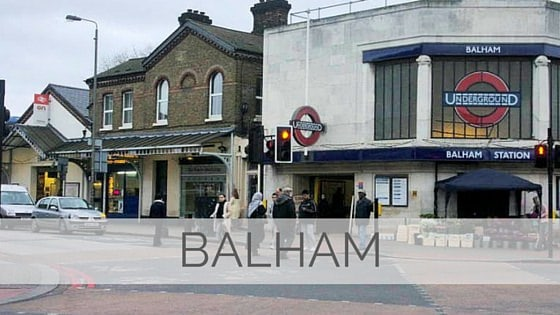 Learn To Say Balham?