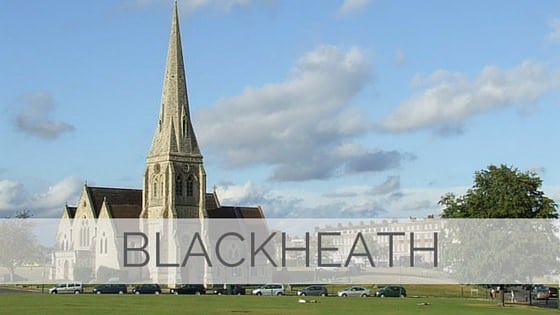 Learn To Say Blackheath?