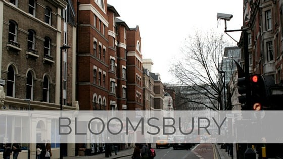 Learn To Say Bloomsbury?