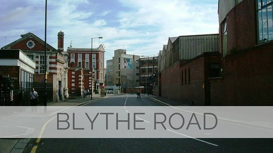 Learn To Say Blythe Road?