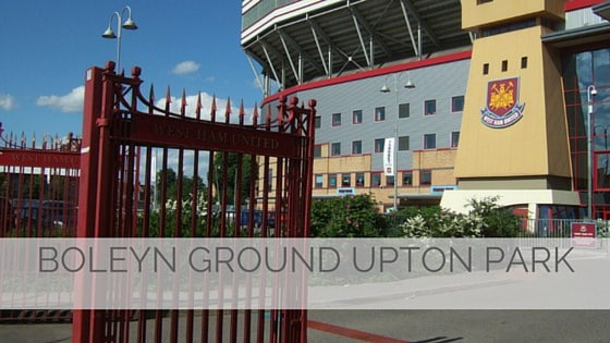 Boleyn Ground Upton Park