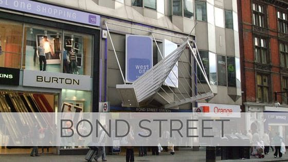 Learn To Say Bond Street?