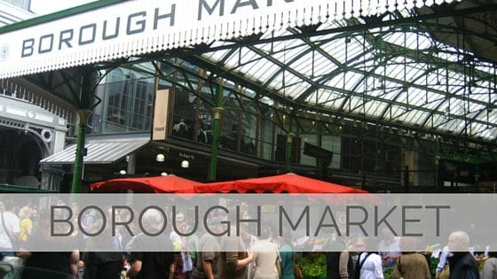 Learn To Say Borough Market?