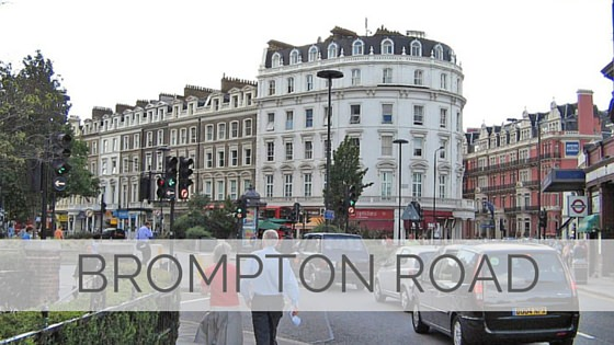 Learn To Say Brompton Road?