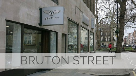Learn To Say Bruton Street?