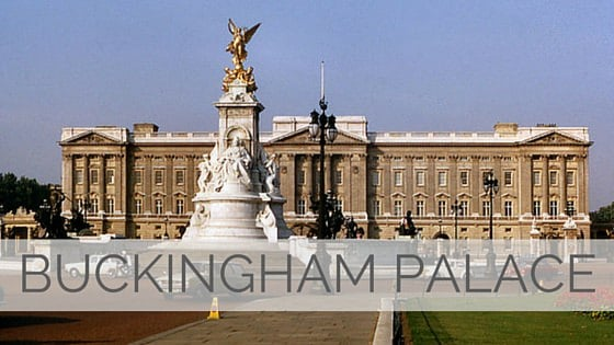 Learn To Say Buckingham Palace?