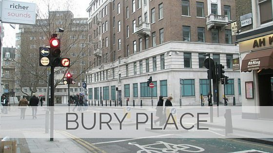 Learn To Say Bury Place?