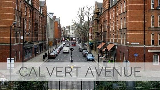 Learn To Say Calvert Avenue?