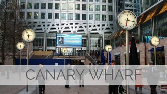 Learn To Say Canary Wharf?