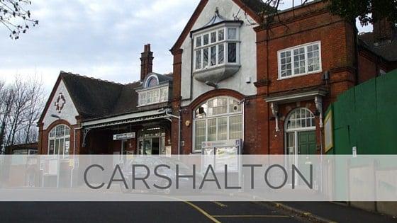 Learn To Say Carshalton?