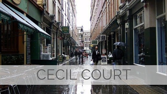 Learn To Say Cecil Court?