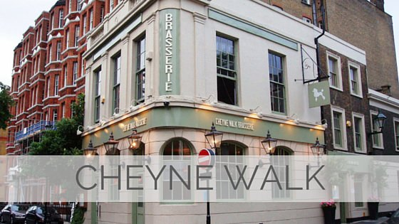 Learn To Say Cheyne Walk?