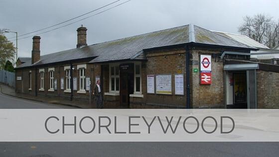 Learn To Say Chorleywood?