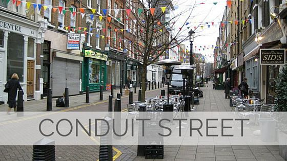 Learn To Say Conduit Street?