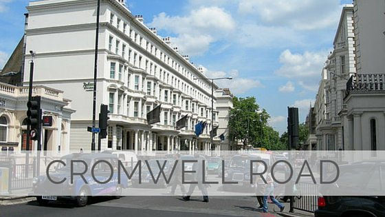 Learn To Say Cromwell Road?