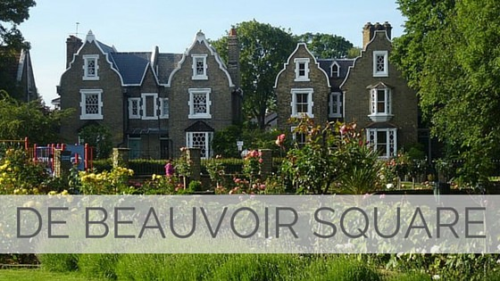 Learn To Say De Beauvoir Square?