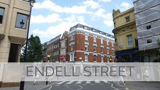 Learn To Say Endell Street?