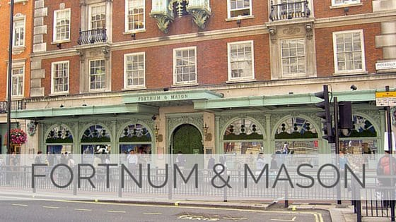 Learn To Say Fortnum & Mason?