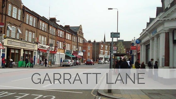 Learn To Say Garratt Lane?