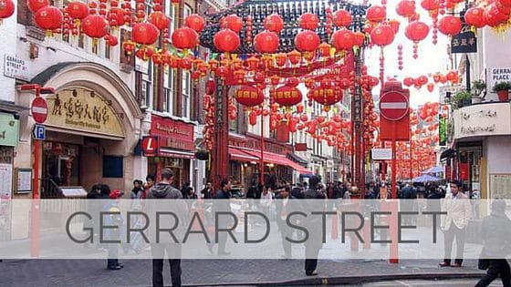 Learn To Say Gerrard Street?
