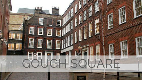 Learn To Say Gough Square?