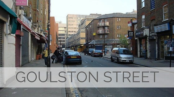 Learn To Say Goulston Street?