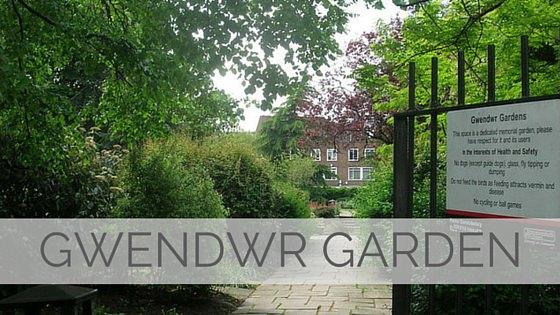 Learn To Say Gwendwr Garden?