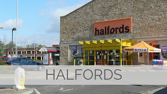 Learn To Say Halfords?