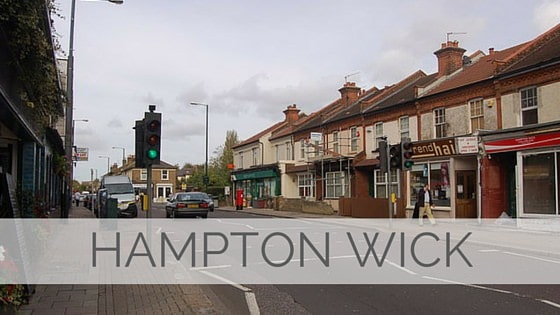 Learn To Say Hampton Wick?