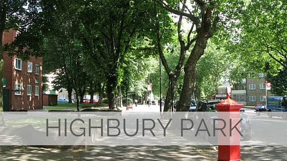 Learn To Say Highbury Park?