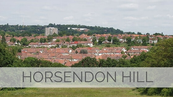 Learn To Say Horsendon Hill?