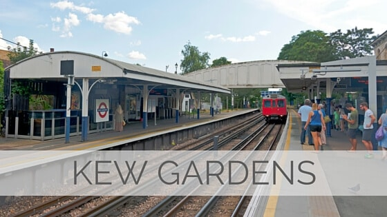 Learn To Say Kew Gardens?