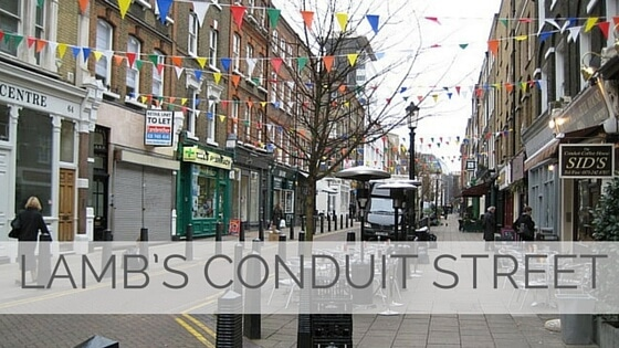 Learn To Say Lamb's Conduit Street?