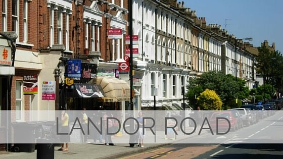 Learn To Say Landor Road?