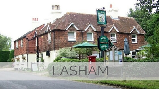 Learn To Say Lasham?