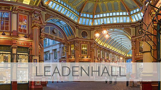 Learn To Say Leadenhall?