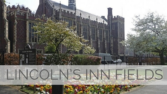 Learn To Say Lincoln's Inn Fields?