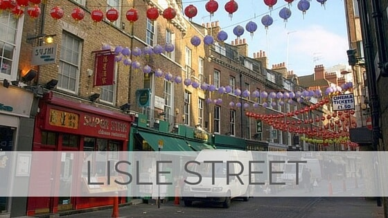 Learn To Say Lisle Street?