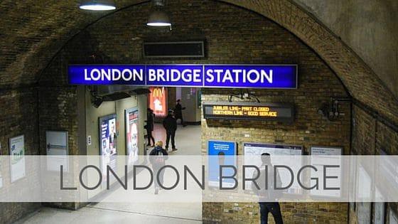 Learn To Say London Bridge?