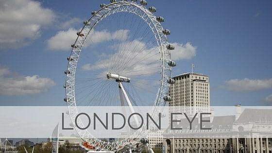 Learn To Say London Eye?