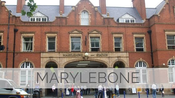 Learn To Say Marylebone?