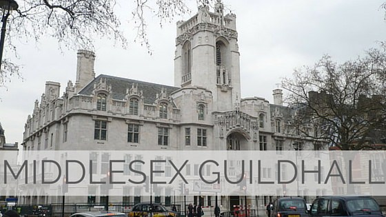 Learn To Say Middlesex Guildhall?