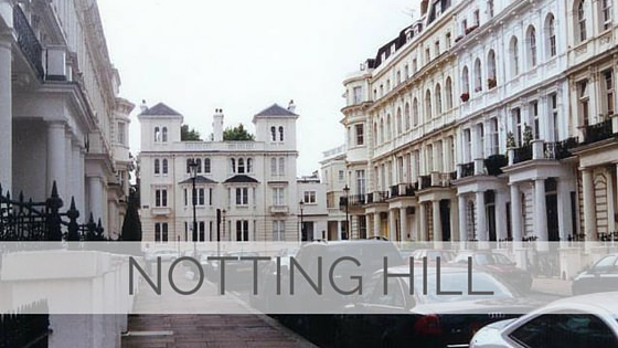 Learn To Say Notting Hill?