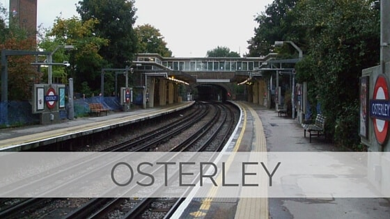 Learn To Say Osterley?