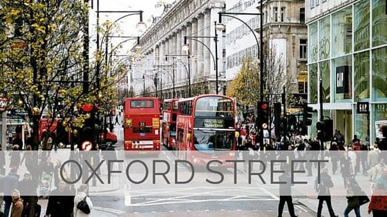 Learn To Say Oxford Street?