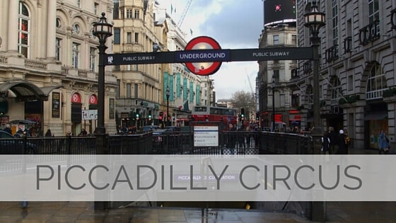 Learn To Say Piccadilly Circus?