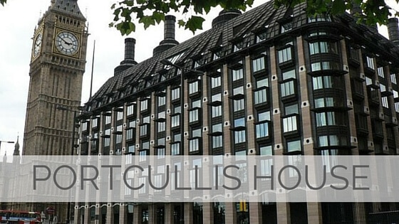 Learn To Say Portcullis House?