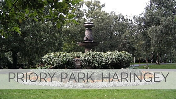 Learn To Say Priory Park, Haringey?