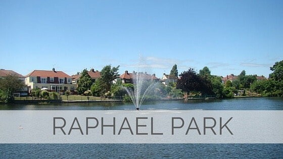 Learn To Say Raphael Park?